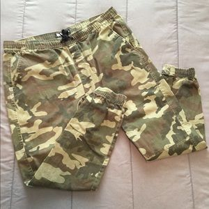 BROOKLYN CLOTH CO. CAMO JOGGERS